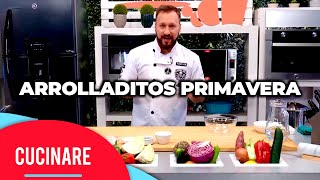 "Cucinare TV - ""Arrolladitos primavera"""