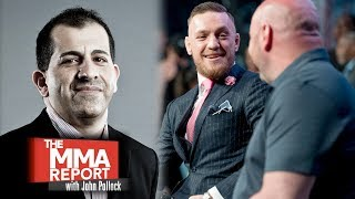 Stephen Espinoza: UFC Was Philosophically Opposed to Conor McGregor Boxing vs. Floyd Mayweather