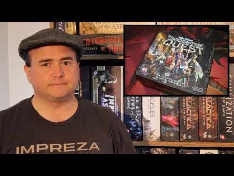 The Discriminating Gamer: Thunderstone Quest