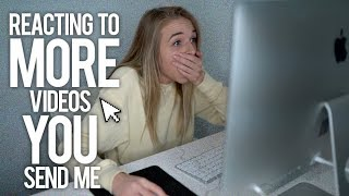 REACTING TO MORE VIDEOS YOU SEND ME - Video Youtube