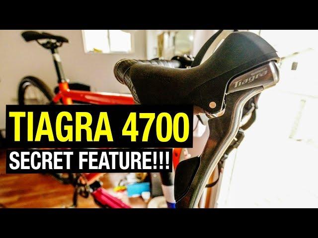 Видео Дуал правый Shimano Tiagra ST-4700 10 speed черный