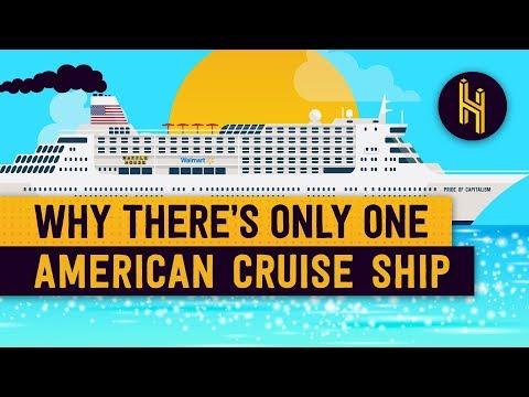 Proč je na světě jen jedna jediná americká výletní loď?