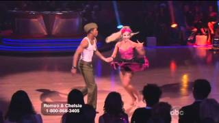 Dancing with the Stars : Romeo and Chelsie Hightower -- Samba