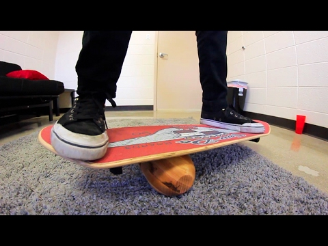 BEST BALANCE BOARD EVER?!