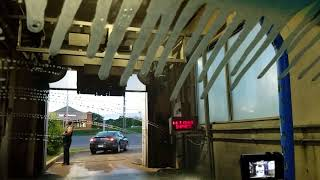 Brushless Car Wash - Inside View