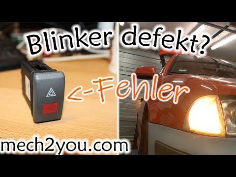 🛠️ Kein Blinker geht nicht mehr am Auto | Warnblinkanlage defekt | Warnblinkschalter wechseln
