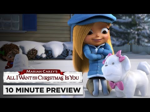 Mariah Carey's All I Want for Christmas Is You   10 Minute Preview   On Blu-ray, DVD & Digital
