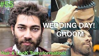 Hair Tutorial   Hair Transformation 2018 (Fun ✰) Groom Day   Best Barber 2018 USA/UAE