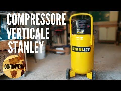 COMPRESSORE VERTICALE STANLEY 50 LITRI D230/10/50V RECENSIONE