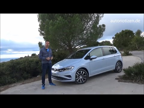 VW Golf Sportsvan 2018 1.5 TSI 96 kW/130 PS Fahrbericht, Test, Review