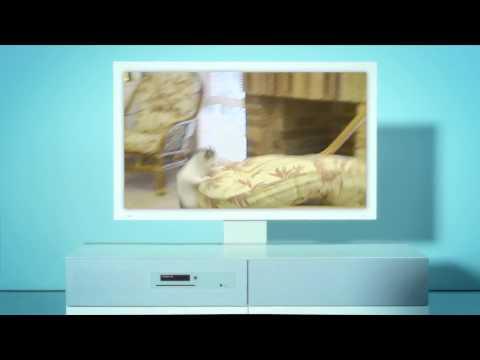 IKEA UPPLEVA - Wohnzimmermöbel mit integriertem Fernseher und Bluray Player