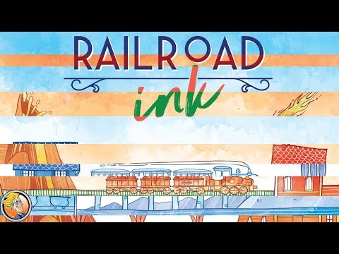 Learn to play Railroad Ink: Red and Blue — Fun and Board Games with WEM