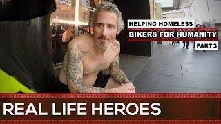 Street Hero Helping Homeless 🏍 Bikers For Humanity 3