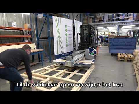 CTT 230: Machine uitpakken