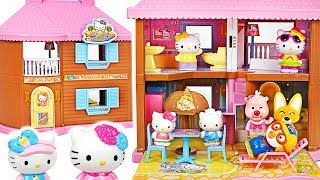 We have a kitty resort! Let's go to kitty resort with Pororo's friends! #PinkyPopTOY