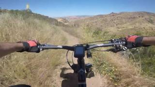 This is a glimpse at the Chumash Trail in Rocky Peak Park, Simi Valley.