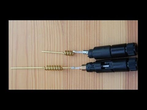 Modifying a 2 4 GHz dipole antenna to 5 GHz