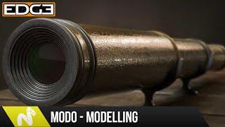 Modo Modeling Tutorial - How To Create A Telescope