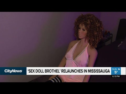 'Sex doll brothel' re-opens in Mississauga