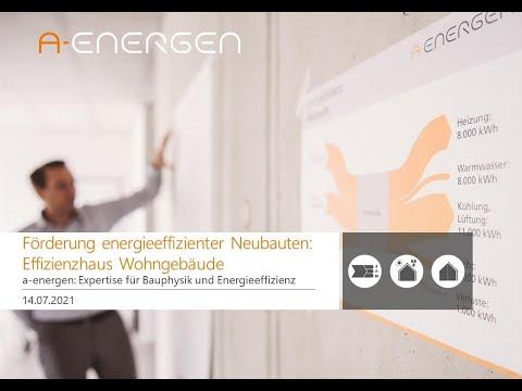 Förderung energieeffizienter Neubauten: Das Effizienzhaus Wohngebäude