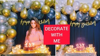 DIY Birthday Decoration Ideas At Home !