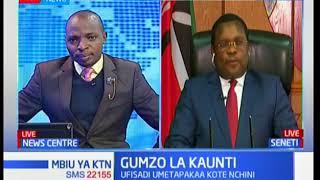 Gumzo la Kaunti: Spika wa Seneti Kenneth Lusaka