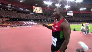 Julius Yego 92,72m Beijing 2015