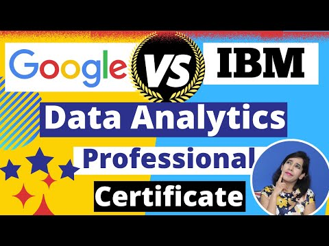 IBM Data Analytics vs Google Data Analytics courses. Which Online ...