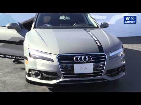 CES 2015 : Audi Pilotiertes Fahren A7 Jack / EXCLUSIVE Interview