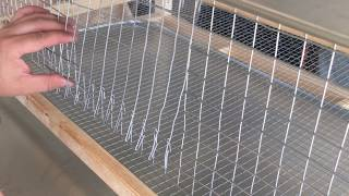How to build a stacked Quail Cage