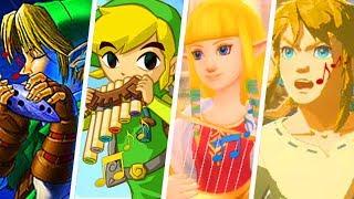 Evolution Of The Legend Of Zelda Theme Song (1986   2019)