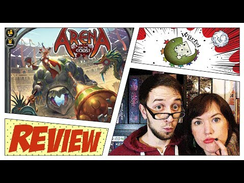 Arena: For the Gods! Review + GIVEAWAY
