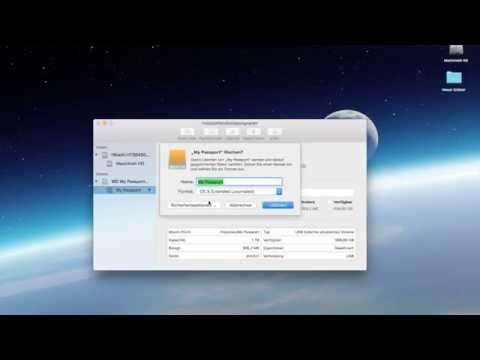 WD externe Festplatte für MAC formatieren / löschen