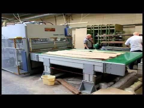 Interwood Through Feed Press