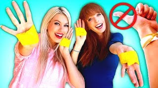 No Thumbs Challenge! + Awesome DIY Hacks & Crafts!!! ❤️