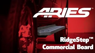 "ARIES (205519): RidgeStep 6.5"" Commercial Running Boards with Brackets for Ford"