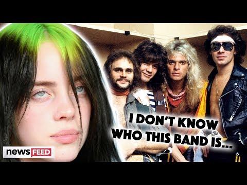 Billie Eilish Mercilessly DRAGGED For Not Knowing Van Halen!