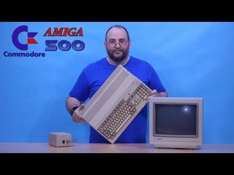 Střípek z renovace: Amiga 500 a disketová mechanika obě krytů zbavené
