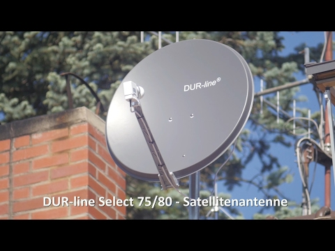 Satellitenschüssel - DUR-line Select 75/80 - 3 x Test
