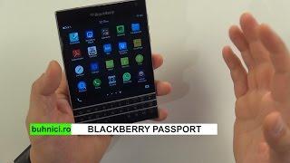 BlackBerry Passport review (www.buhnici.ro)