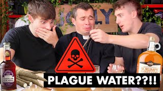Trying PLAGUE WATER! (Traditional British Drinks😅🤮