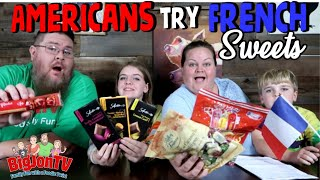Americans Try French Chocolate And Caramels || Foreign Food Friday