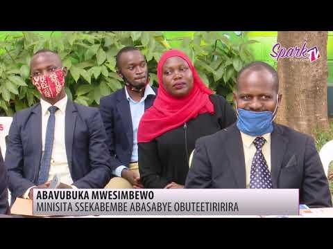 Minista Ssekabembe asabye abavubuka obuteetiririra
