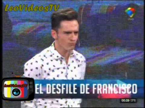 Desfile final con francisco en GH en vivo sabado #GH2015 #GranHermano