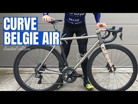 Curve Belgie Air Review (My First Titanium Road Bike Experience)