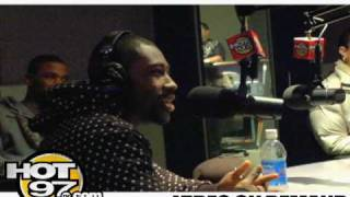 Hot 97-Angie Martinez Interviews Darrelle Revis from The New York Jets