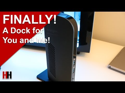 A Laptop Dock for the Everyman