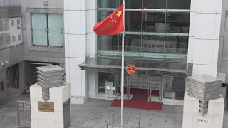 Live: New HK liaison office chief holds press conference新任香港中联办主任骆惠宁会见记者