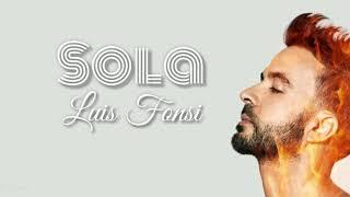 Sola   Luis Fonsi, English Version (Lyrics)