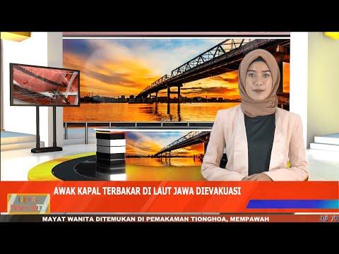 26 Awak Kapal yang Terbakar di Laut Jawa Dievakuasi ke Pelabuhan Ketapang, 1 Penumpang Derita Luka Bakar